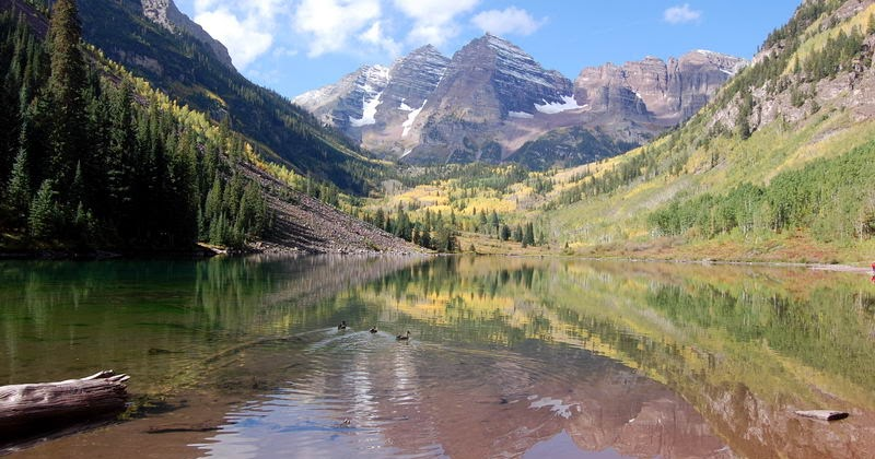 maroon bells lake at - photo #13