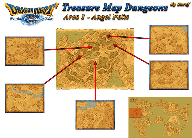Dragon Quest 9 Treasure Maps - GamingReality