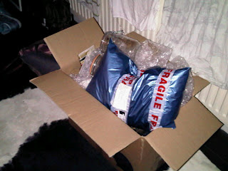 Box full of parcels