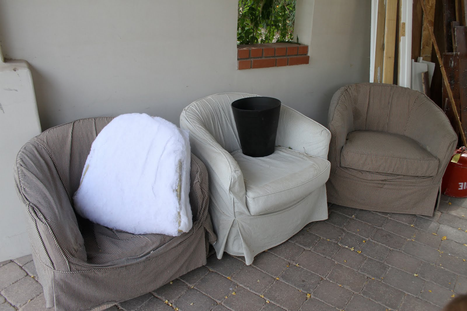 overstock sofa covers l shape set designs in hyderabad barrel chair slipcover