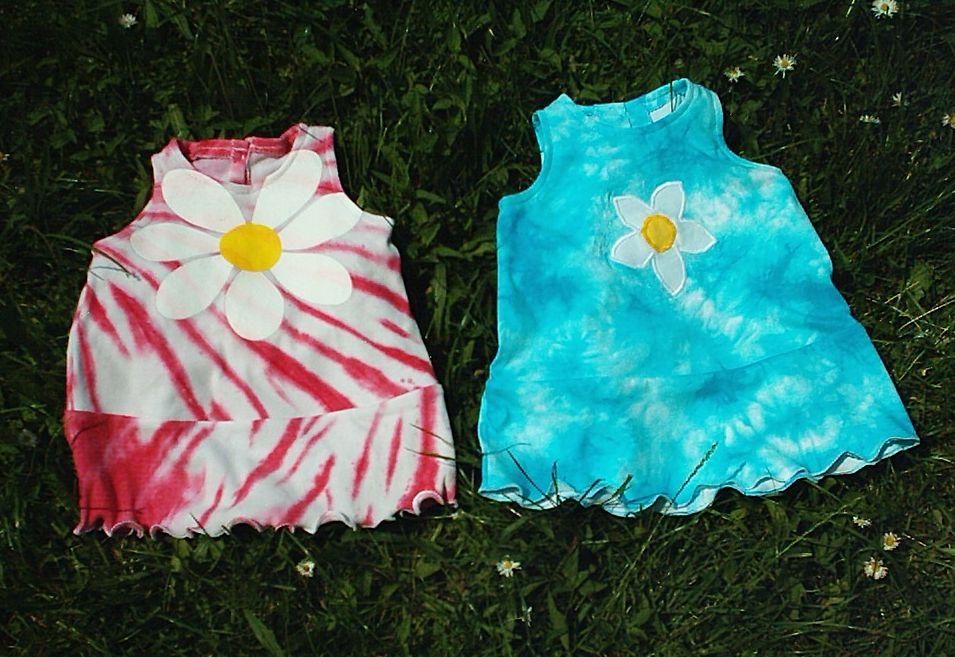 De egy pólóból ennél több is kijön. A legkisebbek egyik szülinapi  ruhapárjához az ihletet a rózsaszín 0c03d89698