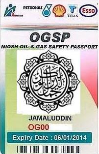 Irjamal Blogspot Com Oil And Gas Safety Passport Niosh Ogsp