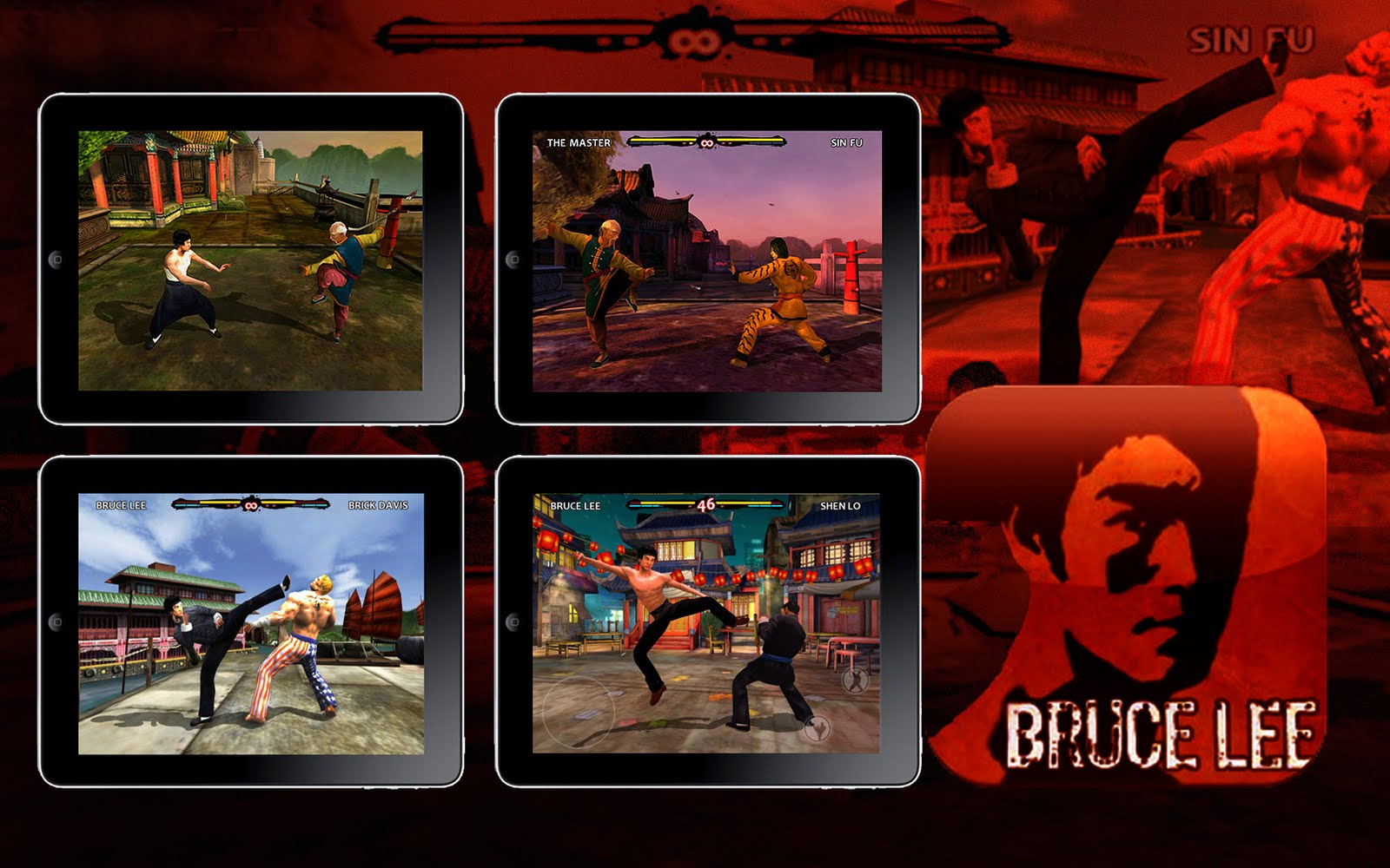 Bruce Lee Dragon Warrior v1.15.26 [APK+DATA] ( ARMV6 trên Android nhé )