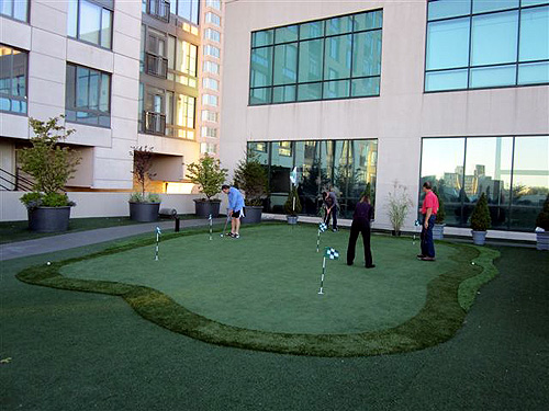Dave Donelson Tee To Green Trump Tower Adds Putting