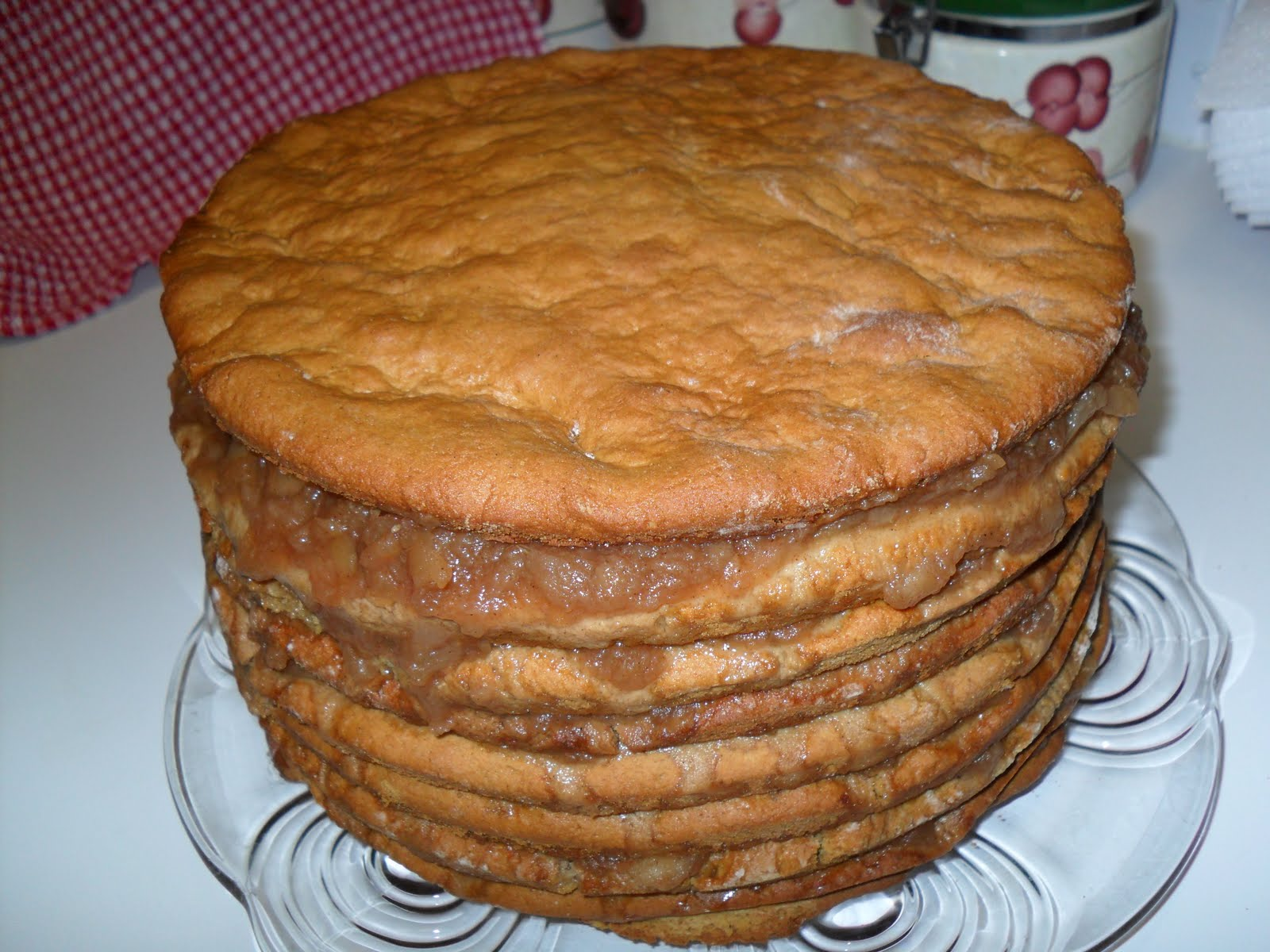 Old Fashioned Apple Stack Cake