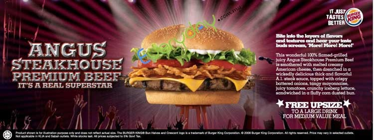 Burger King Angus Steakhouse