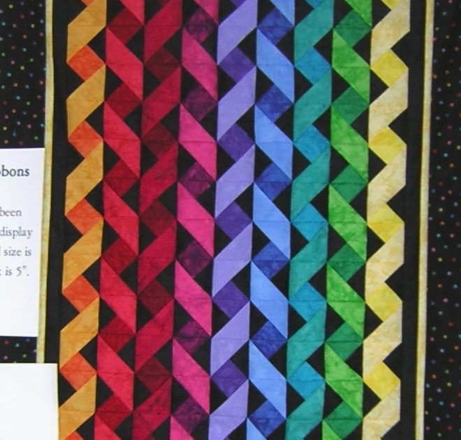 Made In Usa Quilts For Sale Twisted Ribbon Kit