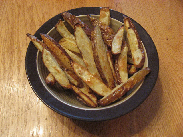 Try your hand at these yummy, healthy oven fries. With just a bit of sugar added, you'll amaze your friends and family with how good these taste.