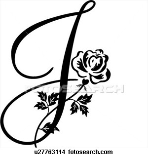 Fancy Cursive Capital J The Letter Art Tattoos Letter J Tattoo