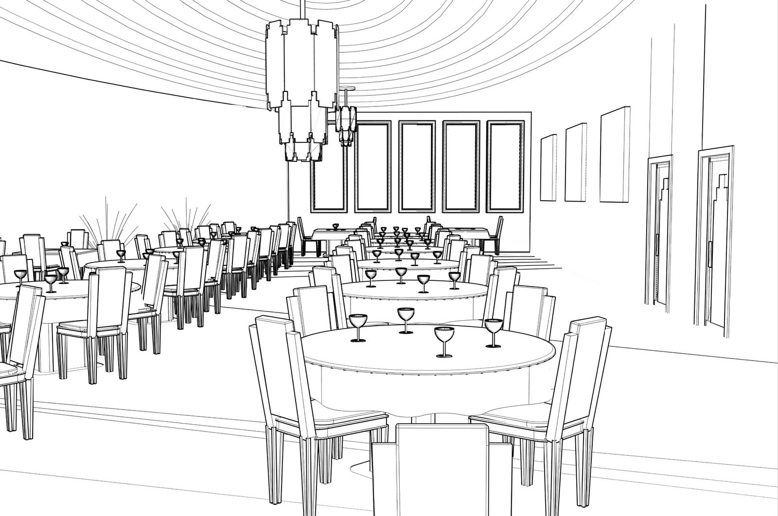 restaurant dining room layout | Lyla Drake-Wilhelm: Harlow Restaurant and Bar