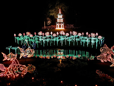 Callaway Gardens Christmas.Retirement Daze Bellingrath A Garden Of Lights