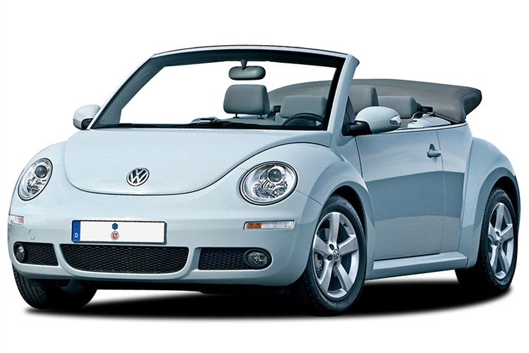 Vw Beetle Convertible Cream