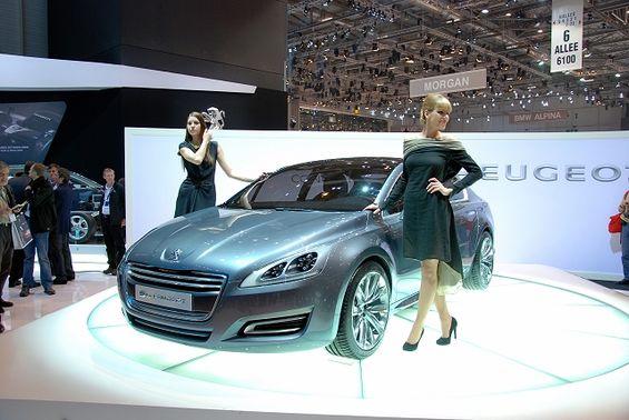 2010 5 By Peugeot Concept Car