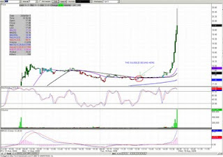Par Pharmaceutical short squeeze. chart and commentary (PRX)