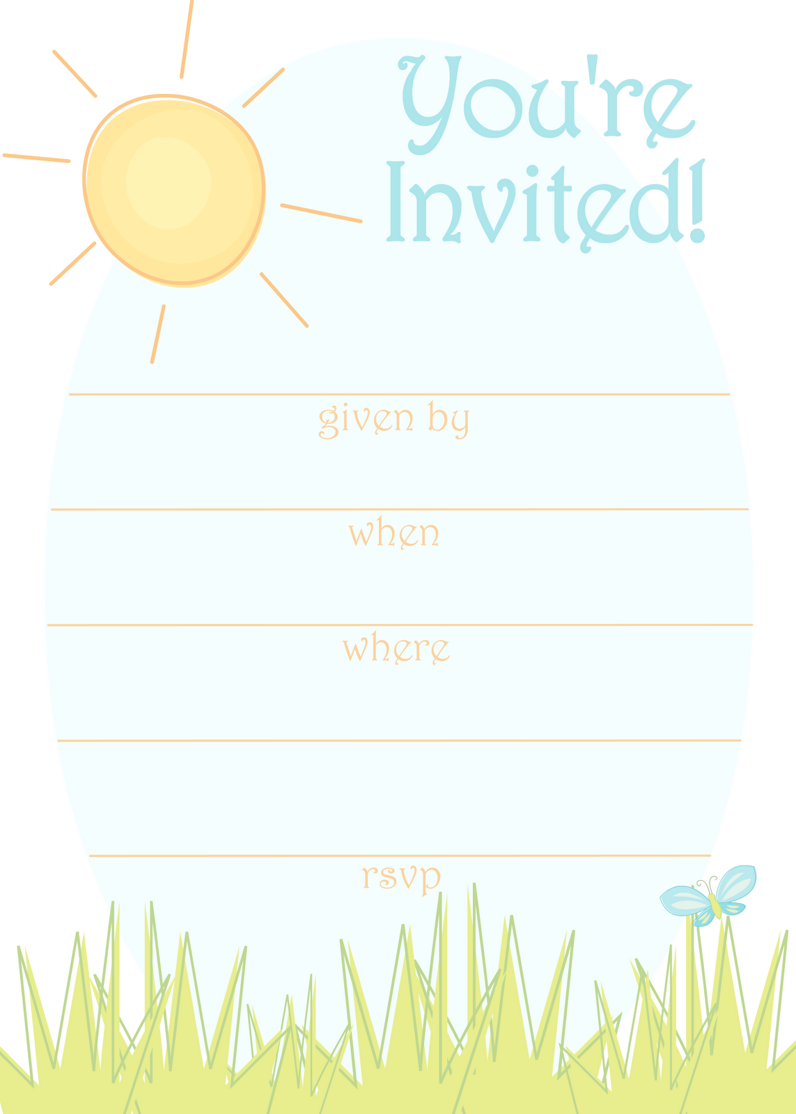 party invitation template - photo #46