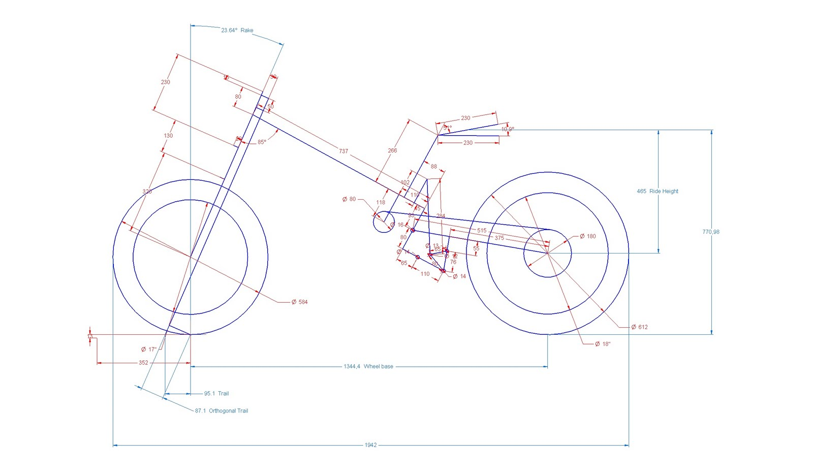 NSR250 Forum: NSR250 Frame and Suspension geometry