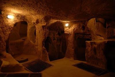 Secret Lexicon Cappadocia Turkey Derinkuyu Underground City