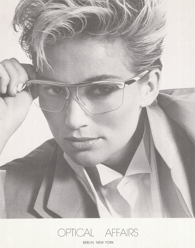 a99de478ad24 ... strong-browed 80s eyewear. Optical Affairs glasses by Christian Roth