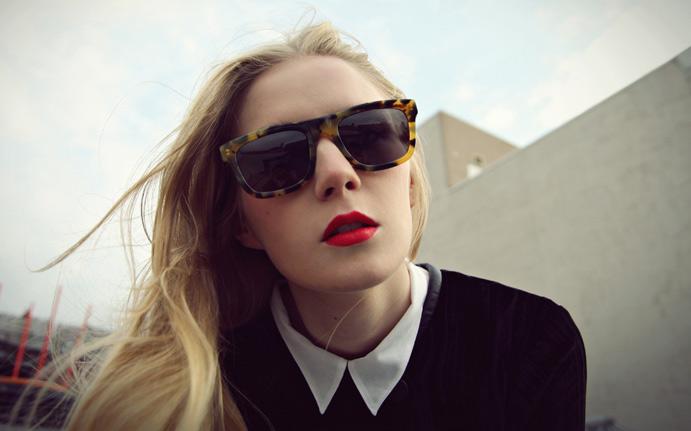 d1b779cd3bec Karen Walker s Deep Freeze tortoiseshell sunglasses as worn by Carolina in  New York