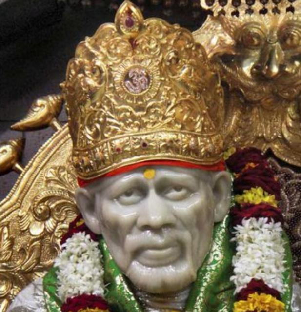 Best Wallpaper Quotes Hd Sai Wallpaper Gold Crown Offered To Baba At Shirdi