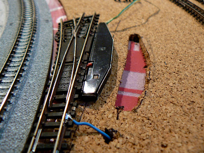 quinntopia - An N Scale blog: Minitrix Turnouts / Switch