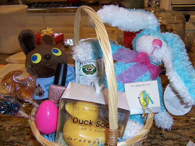 A tisket a tasket a vegan easter basket i are both grown up my mom still loves to make us easter baskets like she did when we were little girls and hey im not going to complain about that negle