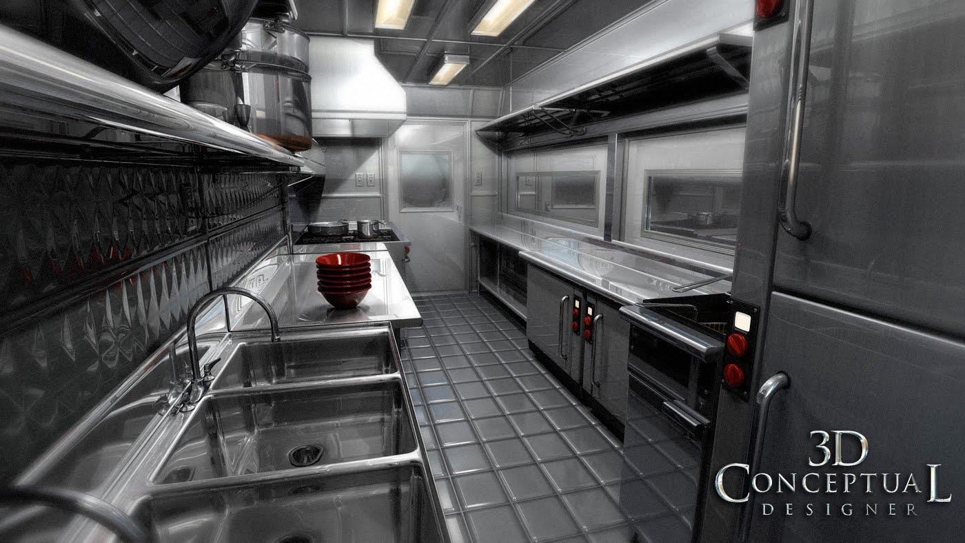 Food Truck Equipment Layout