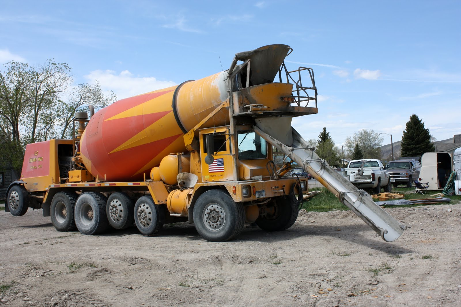 a homemaker s journal cement trucks rate up there with trains