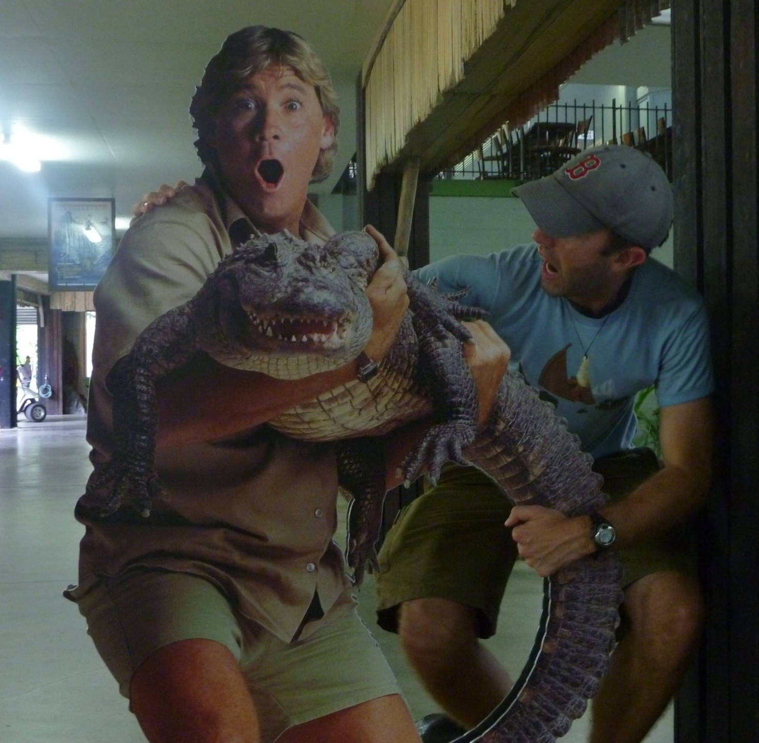 Adrian S Excellent Adventure Crikey A Day At Steve Irwin S Zoo