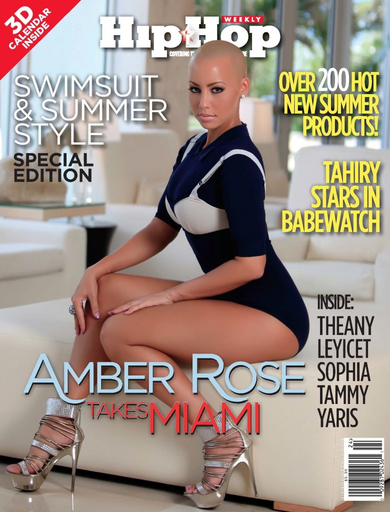 Amber Rose & Tahiry Cover Hip-Hop Weekly Special 3-D Issue
