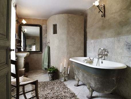 French inspired bathroom | My Paradissi