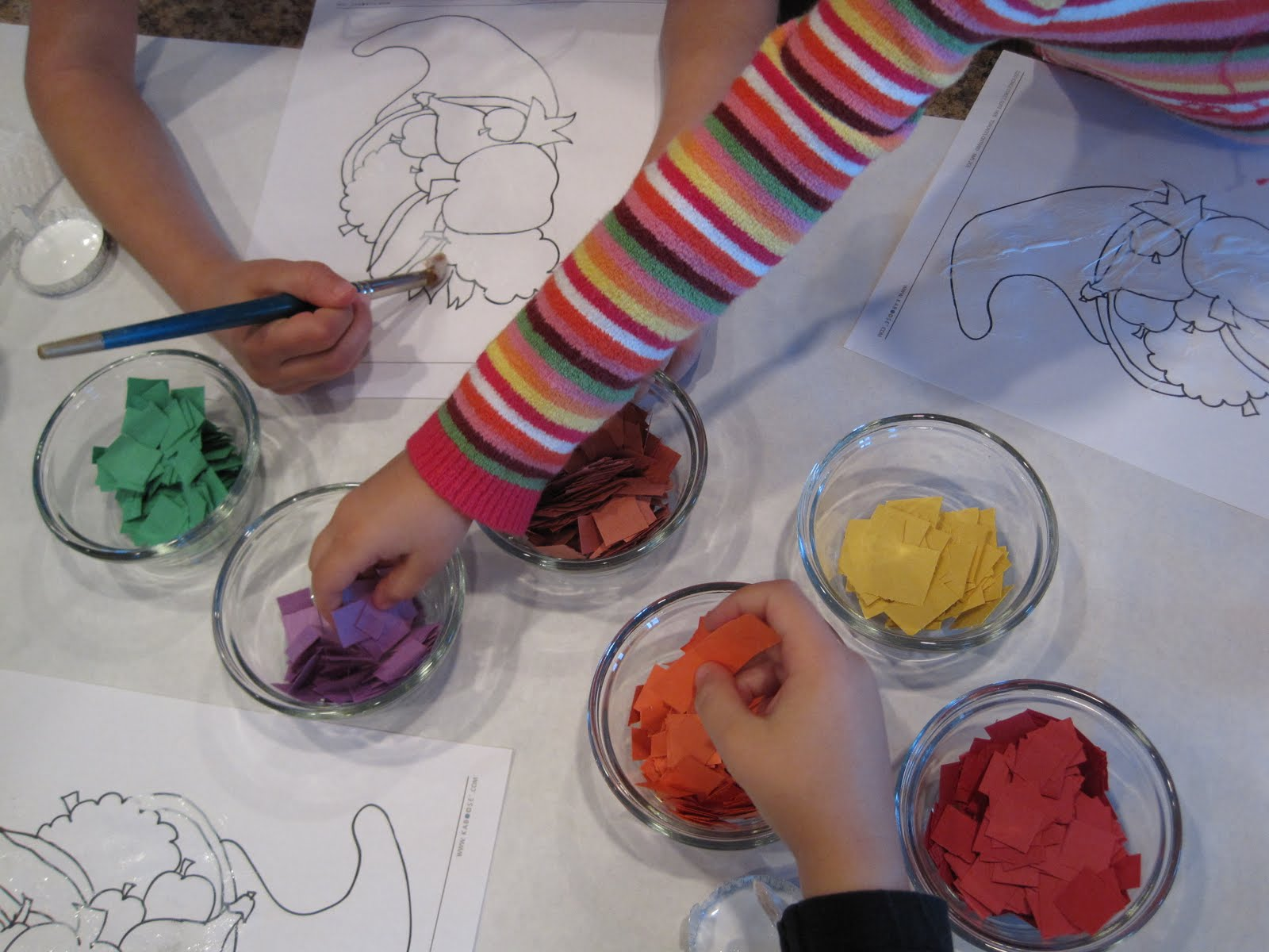 kaboose coloring pages thanksgiving crafts - photo #35