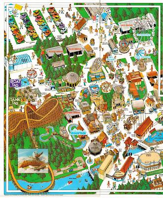 NewsPlusNotes: Dorney Park 1990 Map Part 1 on valley fair map, knott's berry farm park map, garden of the gods park map, kings dominion map, cedar point map, dixie landin map, hershey park zoo map, burke lake park map, flintstones bedrock city map, dutch wonderland map, long island new york city map, michigan's adventure map, hersheypark map, great adventure map, ghost town in the sky map, disneyland map, woodland park zoo map, knoebels map, six flags map, darien lake park map,