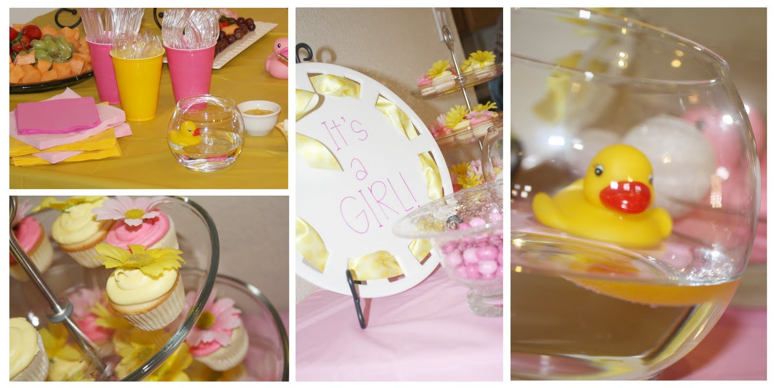 Rubber Ducky Baby Shower Decorations | Best Baby Decoration