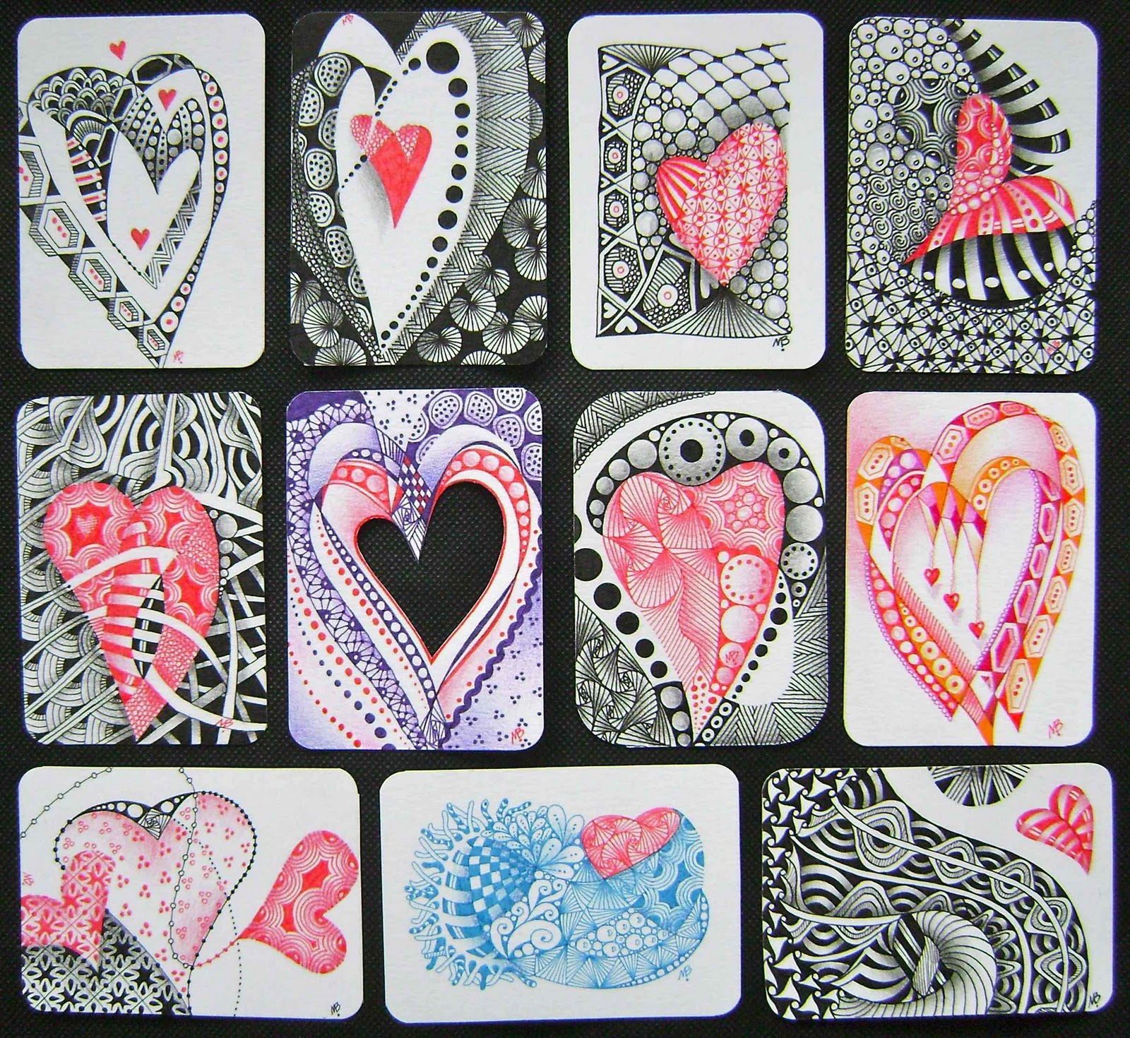 Heart Zentangle by BrollyAF on DeviantArt |Zentangle Heart Graphics