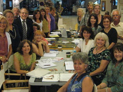 2nd workshop of Miami Art Salon members at Windisch-Hunt Fine Arts in Coconut Grove, Florida