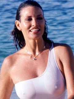 wet bikini cameltoe