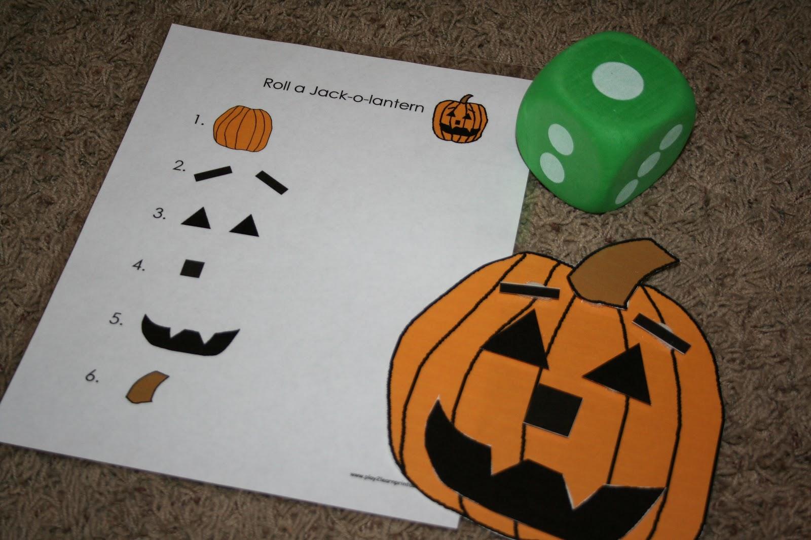 Motherhood Moments Tot School Halloween