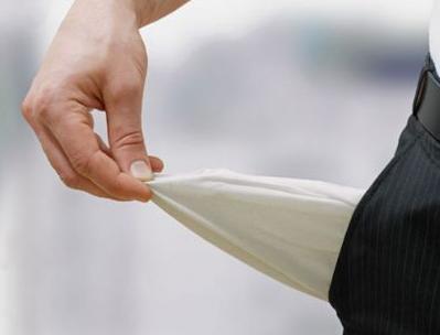 Sin dinero en el bolsillo [Clic para ampliar la imagen]