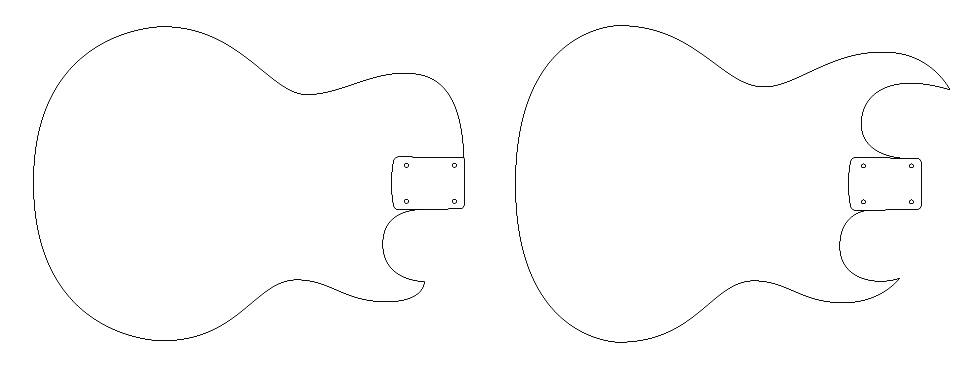 blog the super easy series of electric guitar plans. Black Bedroom Furniture Sets. Home Design Ideas