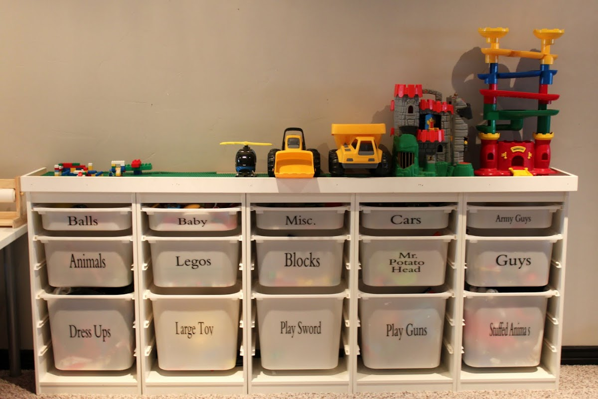 Toy Organizer Ikea Hepworth, Party Of Seven...: Year Of The Organizer. Day 9