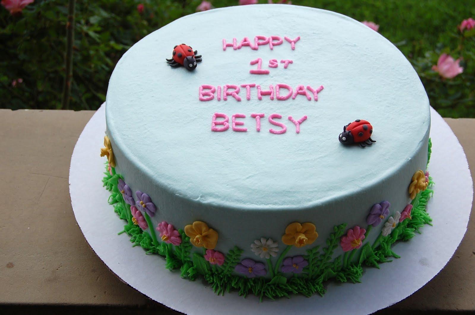 Robyn S Cakes Happy Birthday Baby Betsy