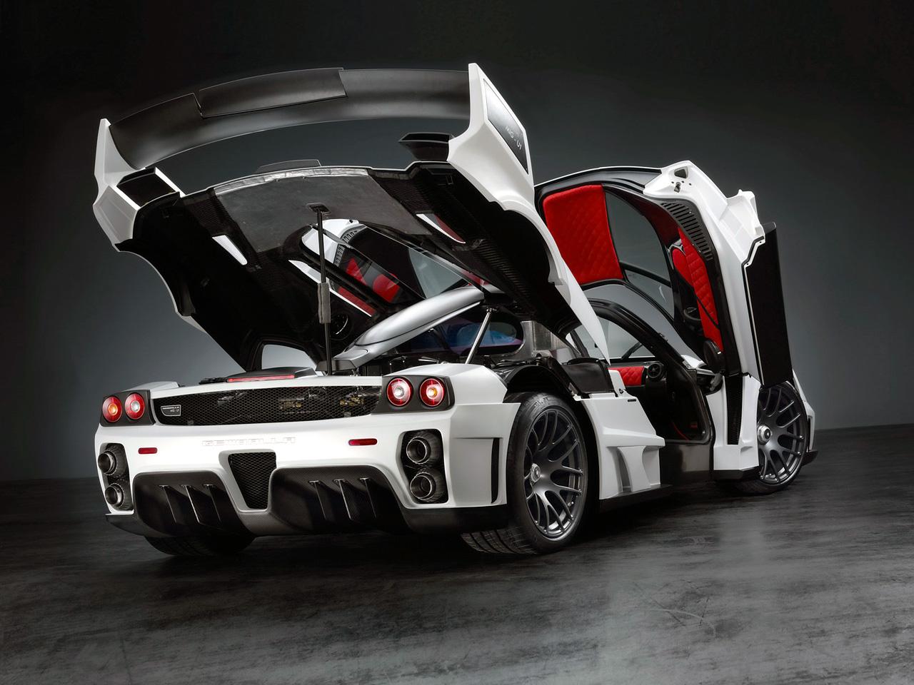 Wallpaper Mobil Sport Modifikasi: Gambar Modifikasi Gemballa MIG-U1 V12-2010