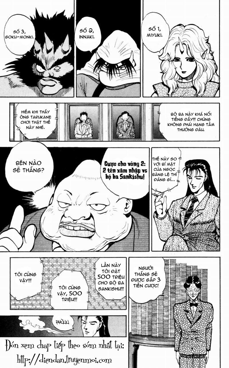 Hành trình của Uduchi chap 048: bộ ba sankishu trang 5