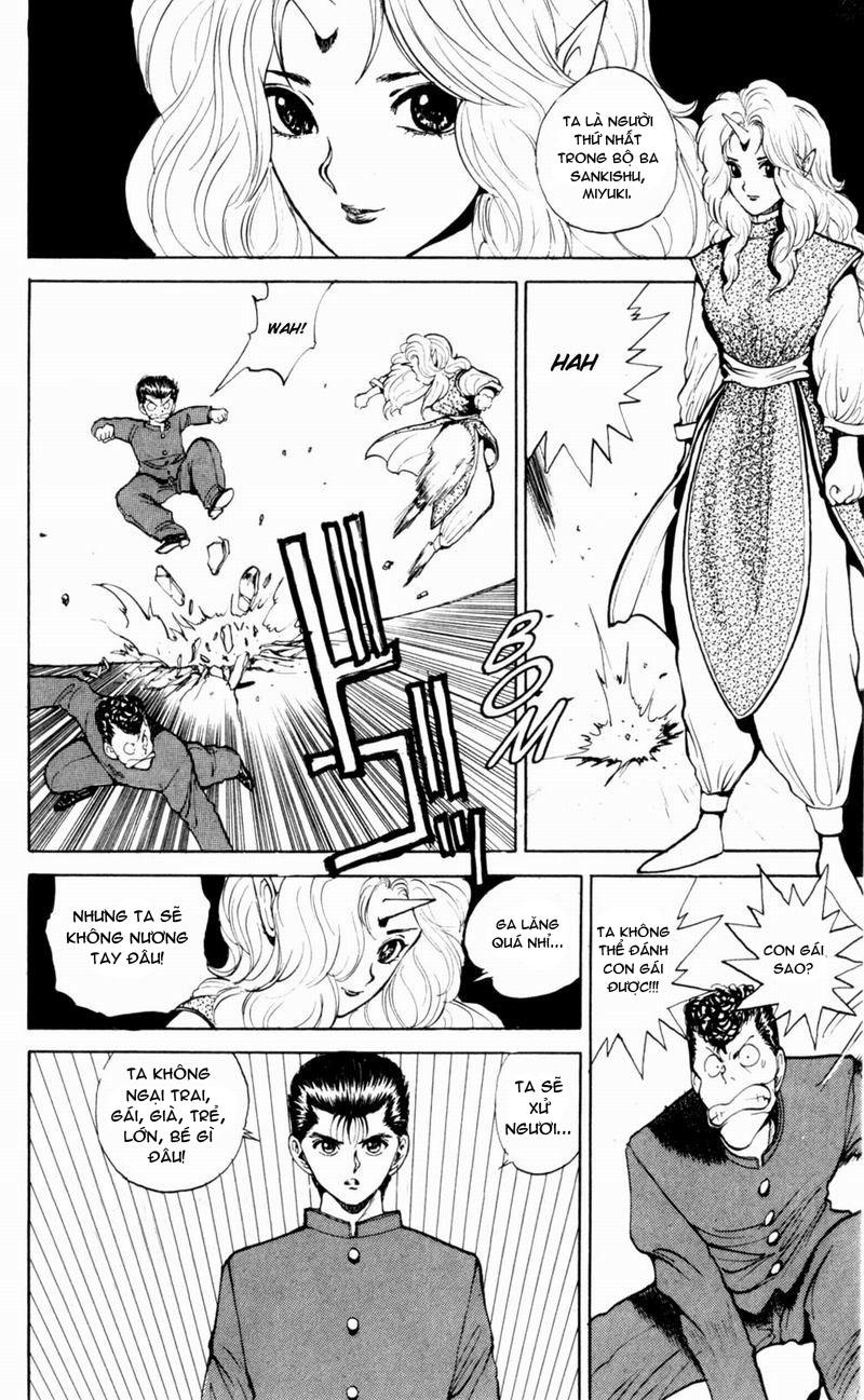 Hành trình của Uduchi chap 048: bộ ba sankishu trang 8