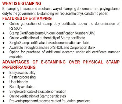 E Stamping Legal Stamp Duty Online What Is