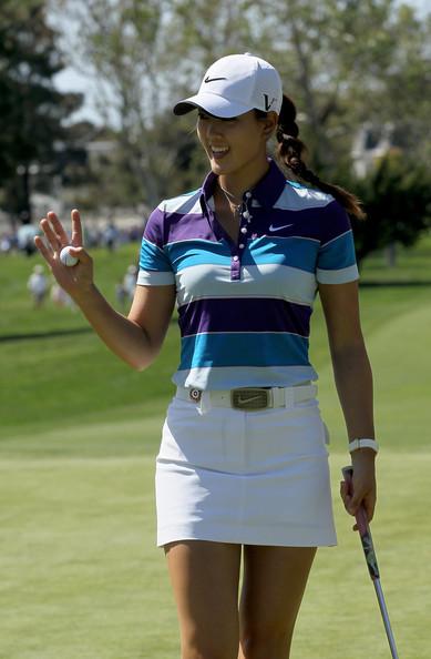 Mini skirts at golf tournaments Golf Girl S Diary The Long The Short Of The Golf Skirt Skort