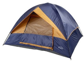 Prospector Moonshadow 8- by 8-Foot Dome Tent Camping