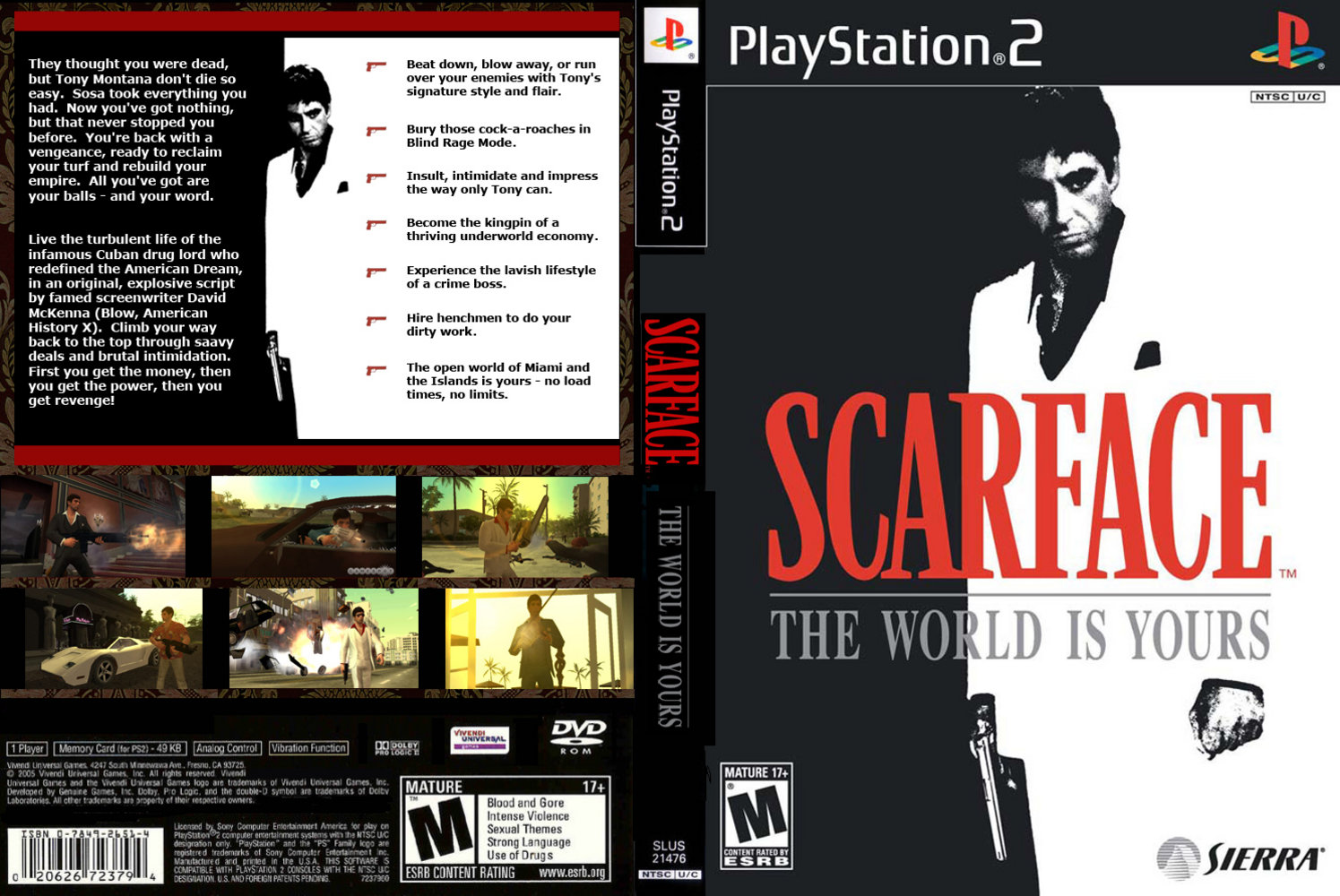 Jc Video Ps2 Scarface The World Is Yours
