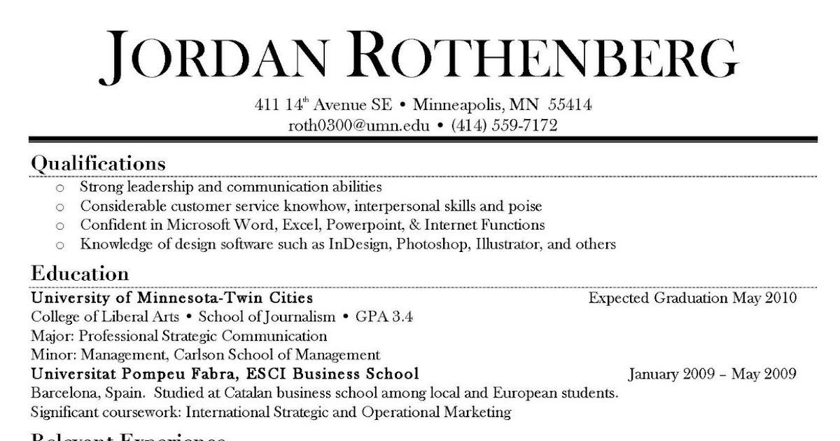 Order resume online jordans